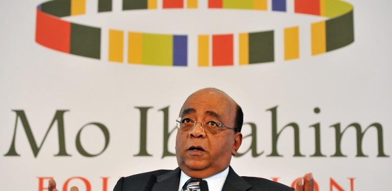 Sudanese born British businessman Mo Ibr
